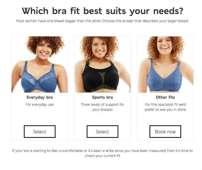 Marks and Spencer Bra Fitting