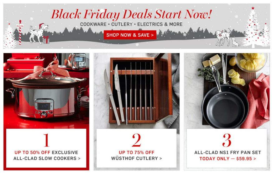 Williams Sonoma Website
