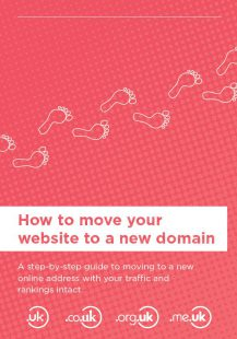 How to move your website to a new domain
