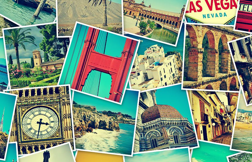 A collage of holiday snaps