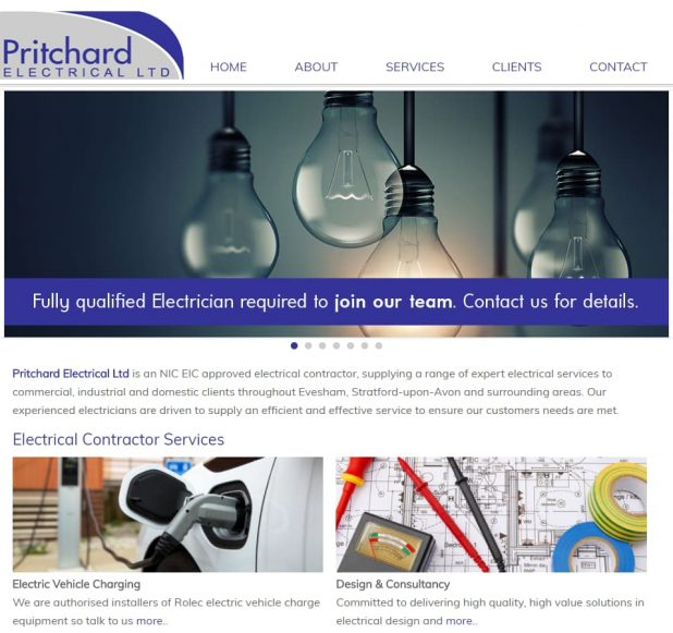 Pritchard Electrical Homepage
