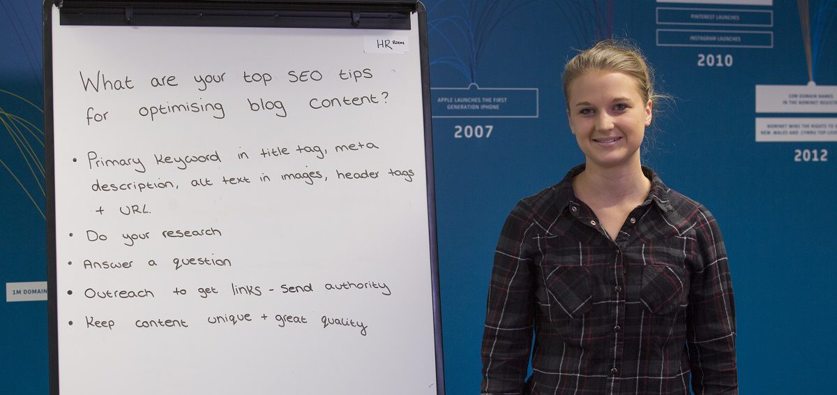 What are your top SEO tips for optimising blog content?