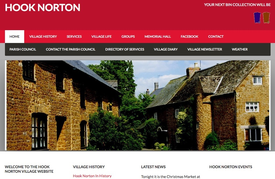 Hook Norton website