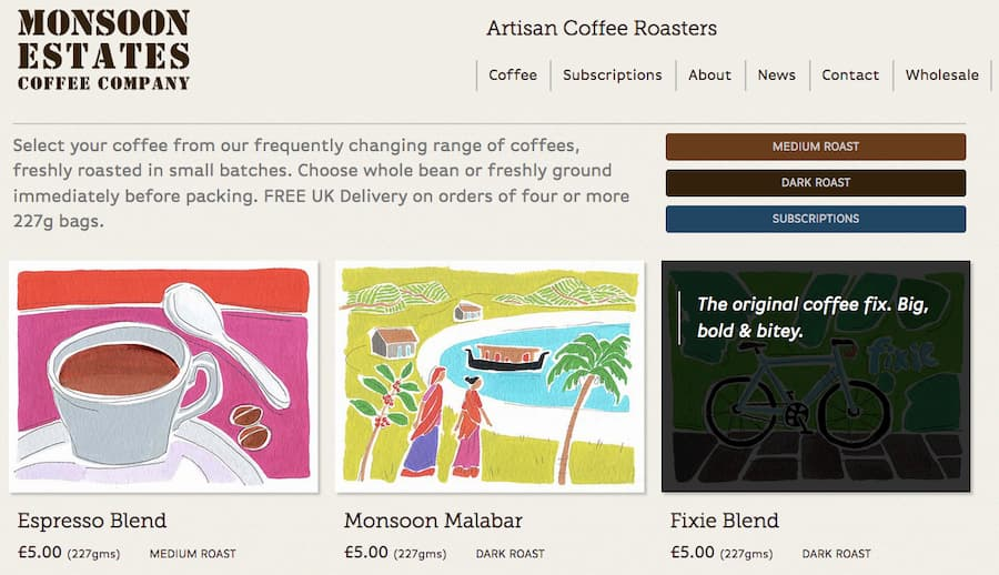 Monsoon Estates Coffee