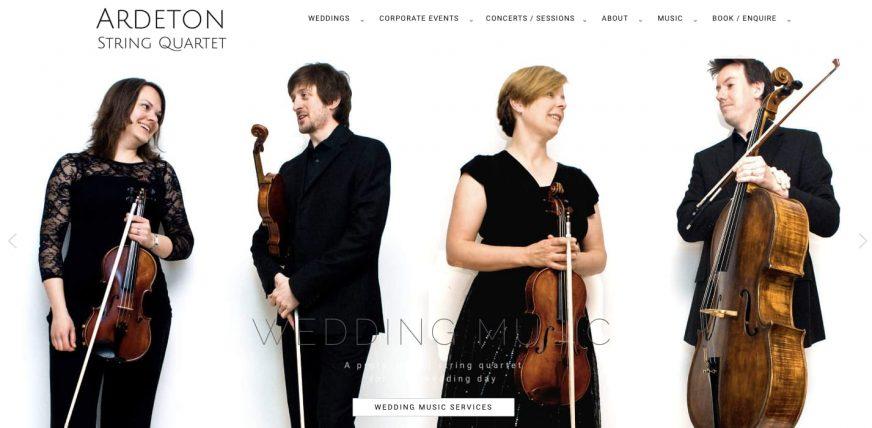 Ardeton String Quartet Homepage