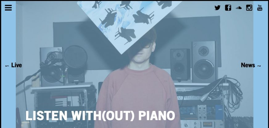 Hot Chip Listen Without Piano Album Cover