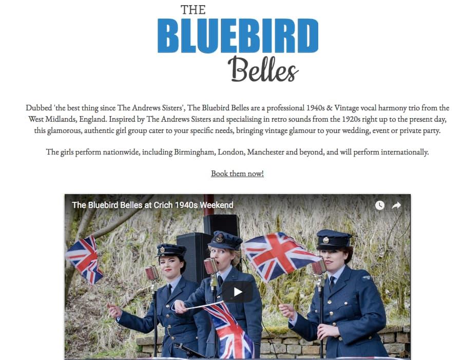 About The Bluebird Belles