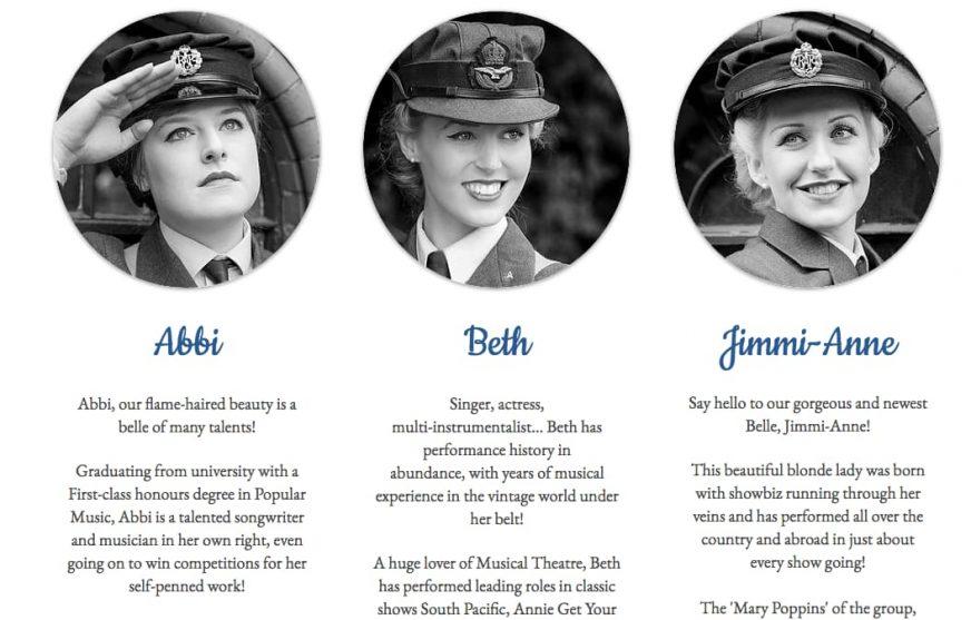 The Bluebird Belles' profiles