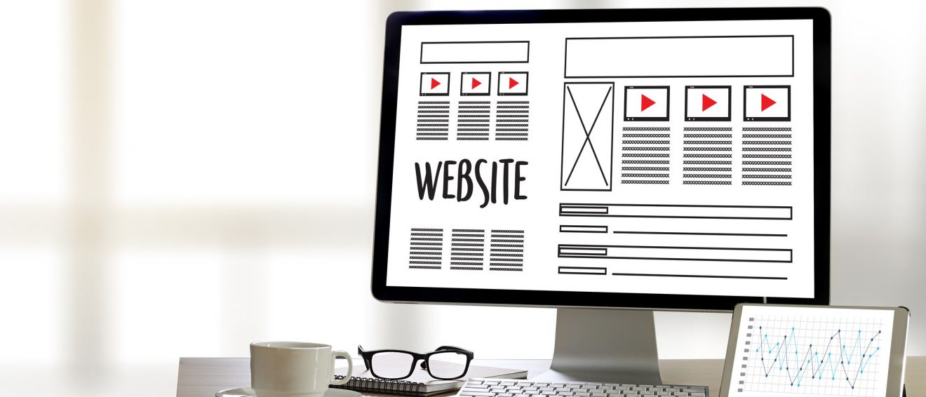 what pages should a business website have