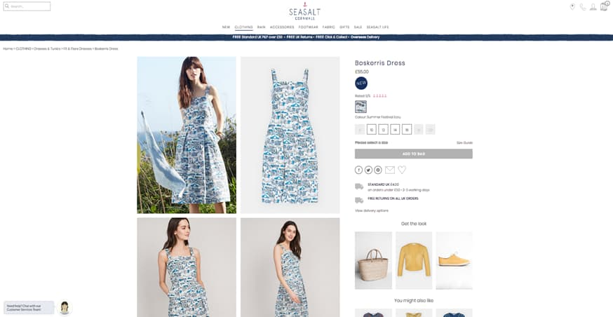Sea Salt Cornwall Dresses