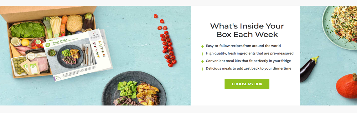 Three great food subscription websites | The UK Domain