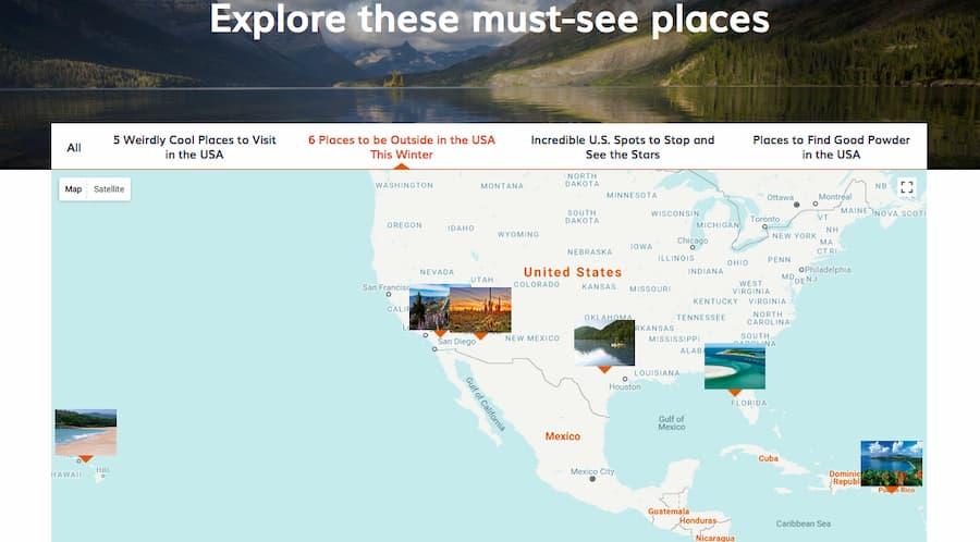 USA trip planner - Step 3