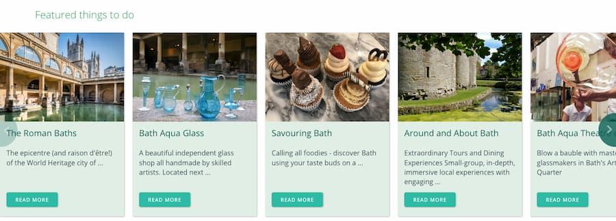 Visit Bath activities