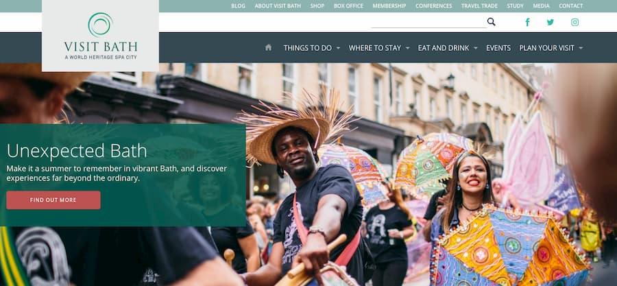 Visit Bath homepage