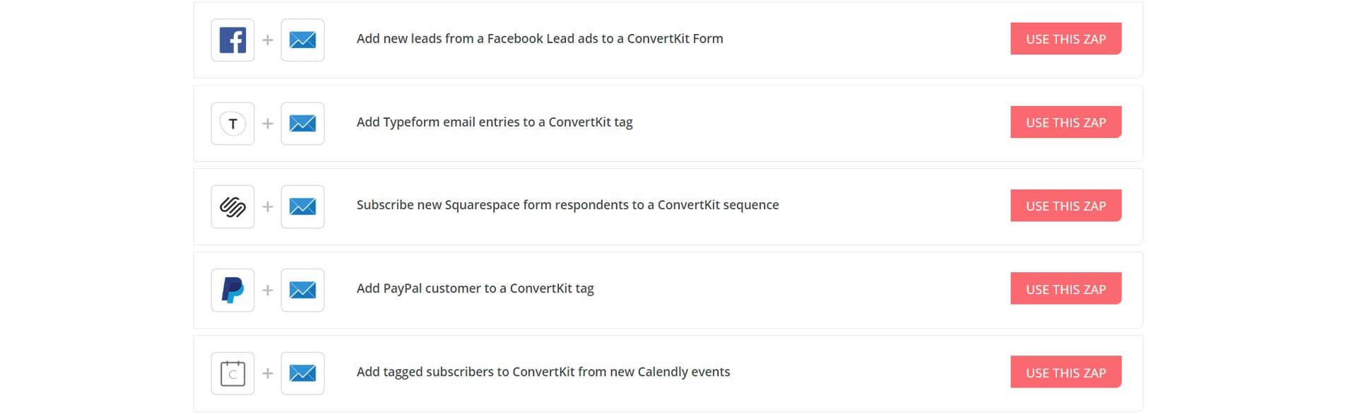 Screenshot of ConvertKit