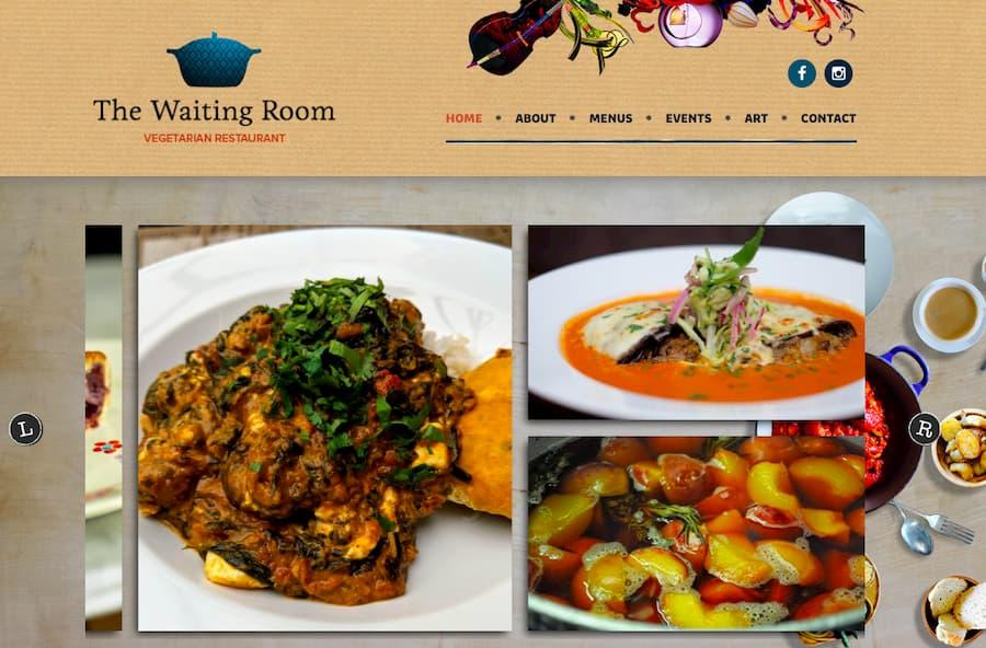 The Waiting Room website screenshot