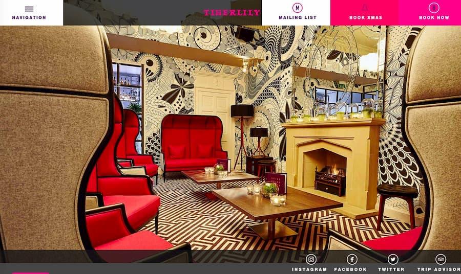 Tigerlily website