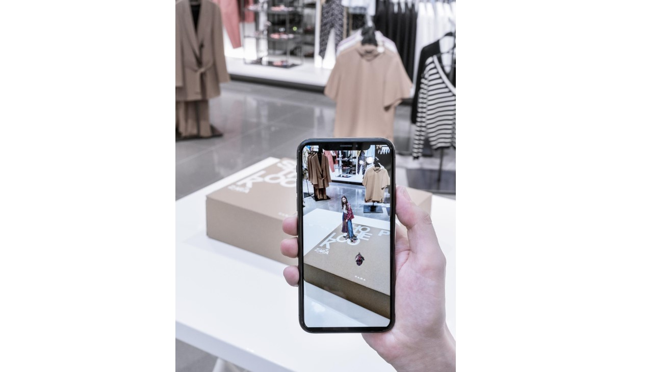 Zara augmented reality