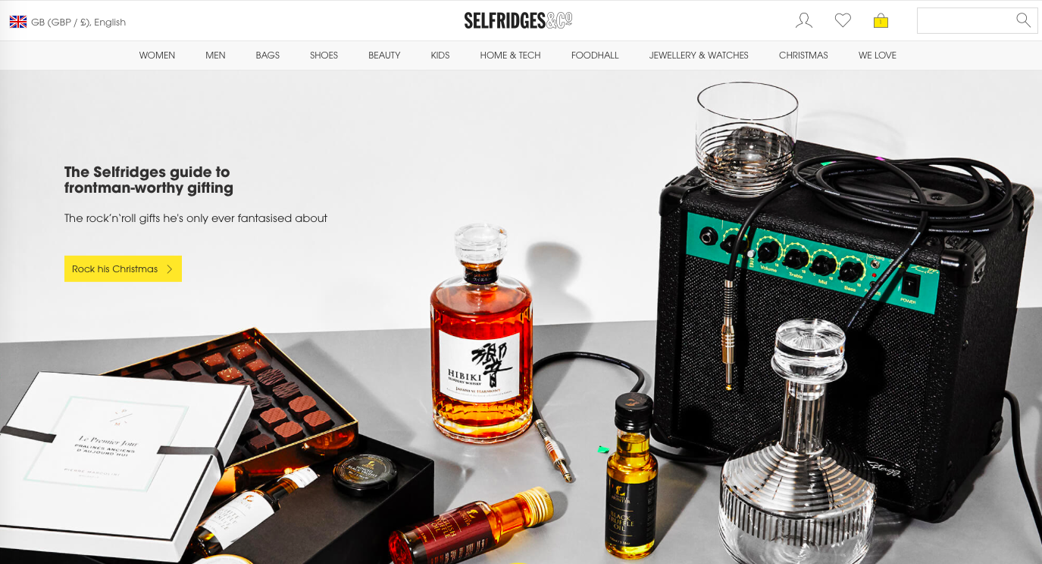 selfridges website