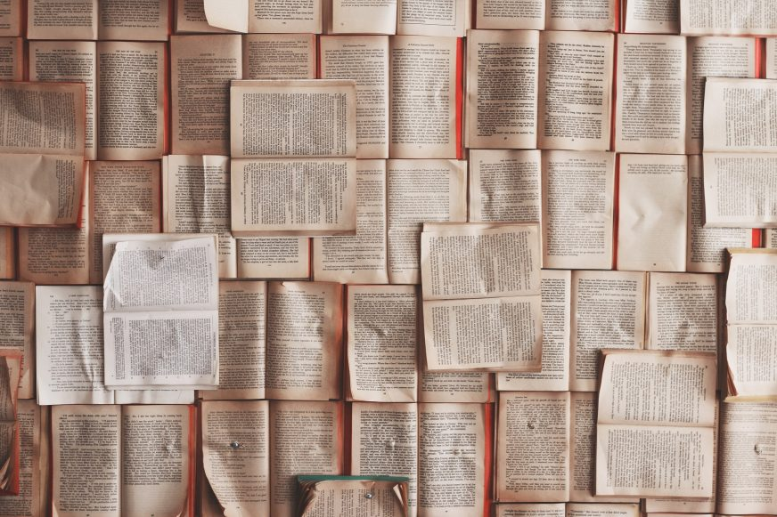 Paper covering wall