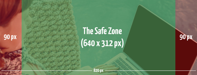 Facebook cover photo safe zone