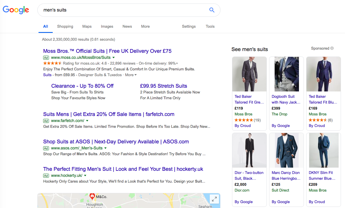 A full guide to Google Shopping | The UK Domain
