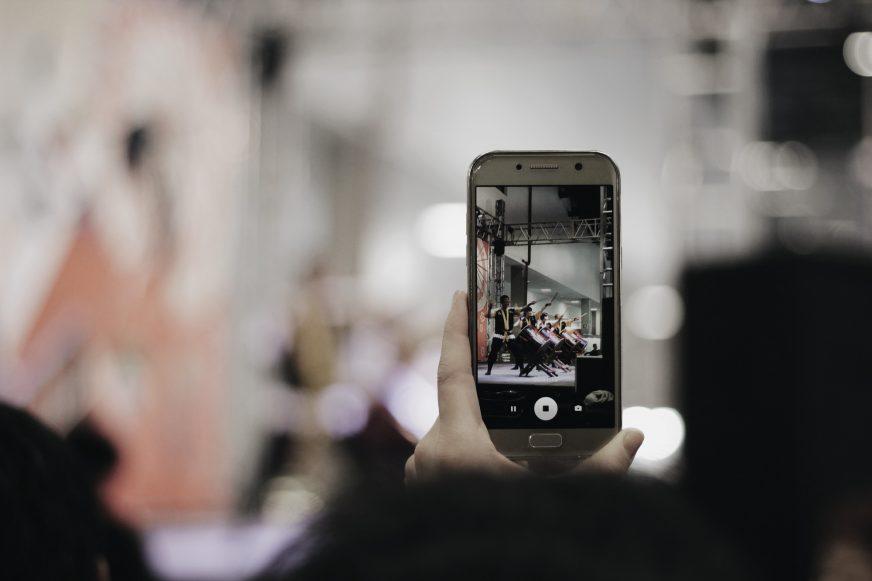 smartphone recording