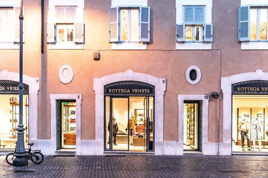 Bottega Veneta storefront