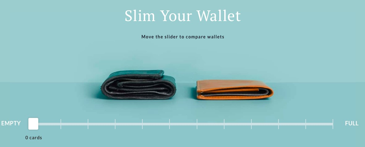 Bellroy's Wallet animation