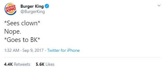 Burger King tweet