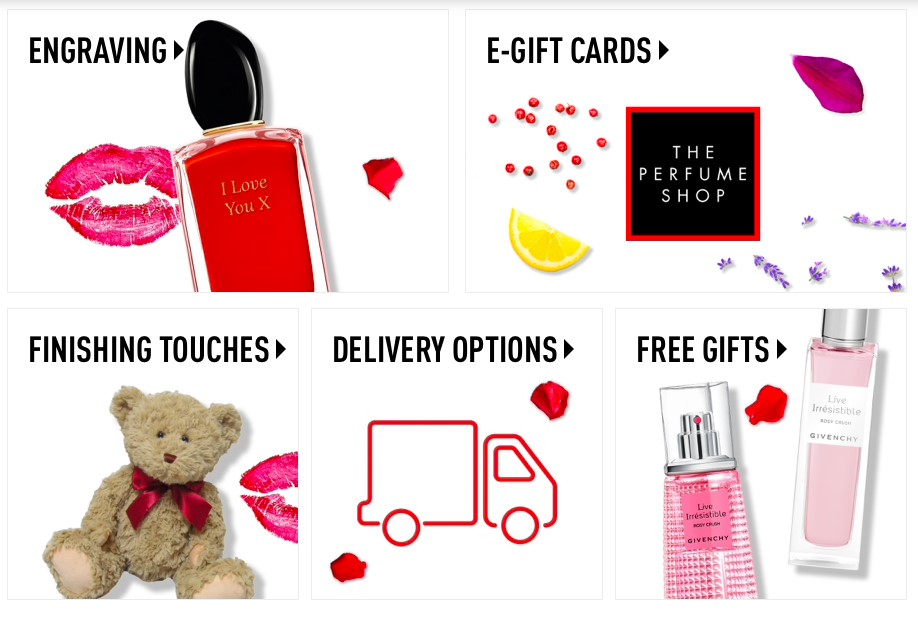 The Perfume Shop gift guide Valentine's Day