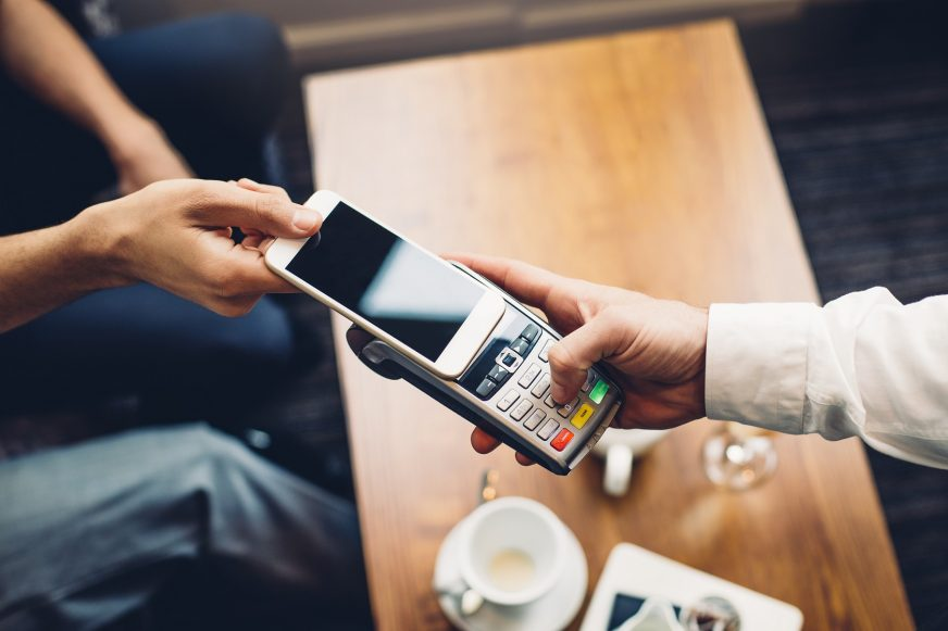 Paying with a mobile phone