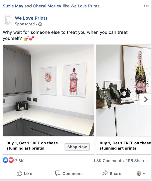 Facebook Advert