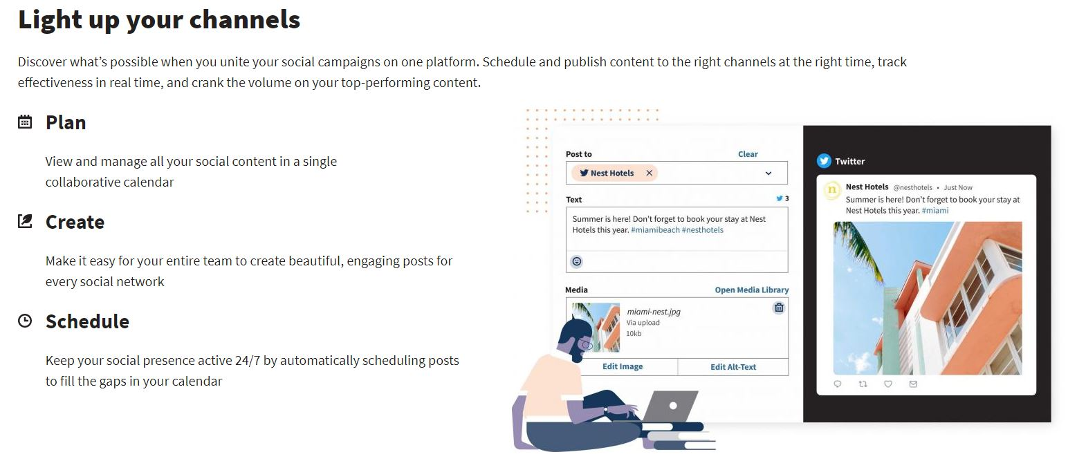Hootsuite social platform