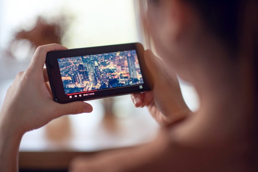 Video streaming on smartphone