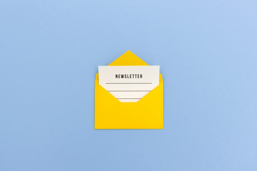 Newsletter email icon